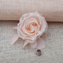 Pale Blush Pink Sinamay